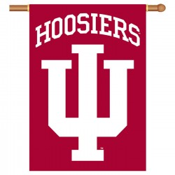 Indiana Hoosiers NCAA Double Sided Banner
