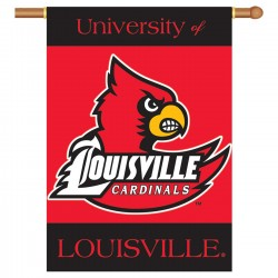 Louisville Cardinals NCAA Double Sided Banner