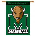 Marshall Thundering Herd Double Sided Banner