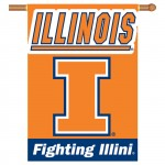 Illinois Fighting Illini Double Sided Banner