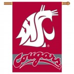 Washington State Cougars Double Sided Banner