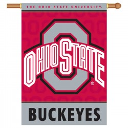 Ohio State Buckeyes Double Sided Banner