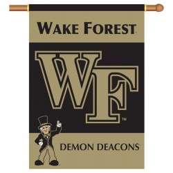 Wake Forest Demons Double Sided Banner