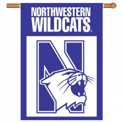 Northwestern NCAA Double Sided Banner