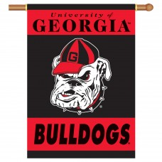 Georgia Bulldogs NCAA Double Sided Banner