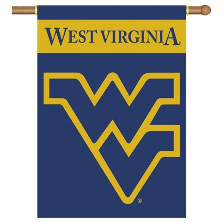 West Virginia Mountaineers Double Sided Banner