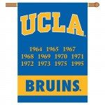 UCLA Bruins Champion Years NCAA Double Sided Banner