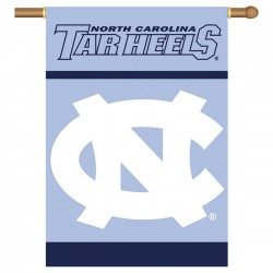 North Carolina Tar Heels Double Sided Banner