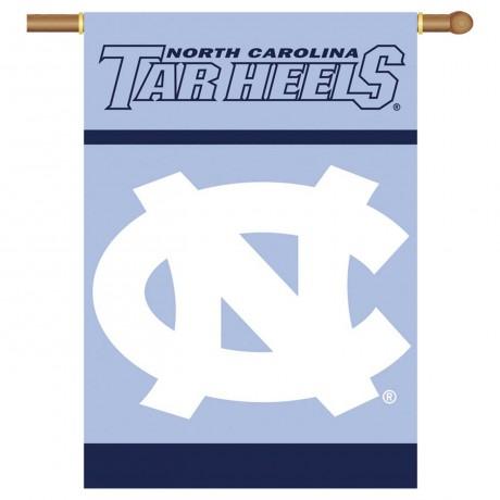North Carolina Tar Heels Double Sided Banner