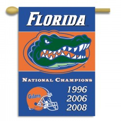 Florida Gators Champion Years NCAA Double Sided Banner