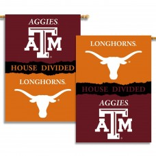 Texas A&M Aggies/Longhorns Outside House Banner