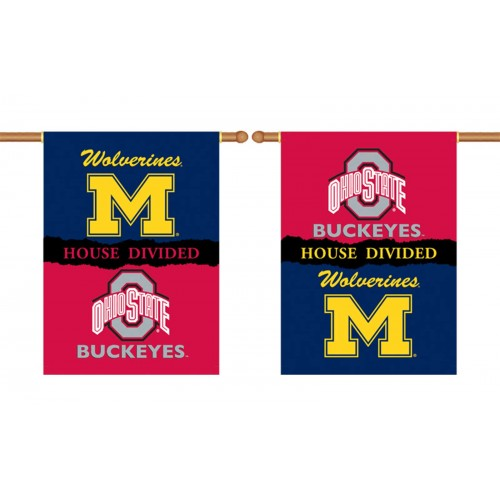 Michigan Wolverines Ohio State House Divided 28 X 40 Banner K96553 By Www Neoplexonline Com