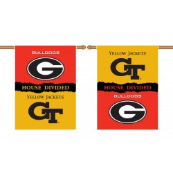 Georgia Bulldogs-Georgia Tech House Divided Banner