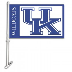 Kentucky Wildcats NCAA Double Sided Car Flag