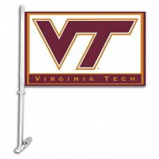 Virginia Tech Hokies NCAA Double Sided Car Flag