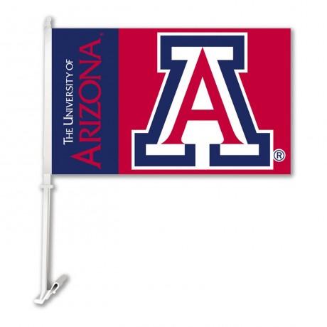 Arizona Wildcats NCAA Double Sided Car Flag