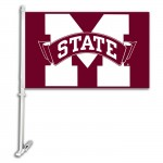 Mississippi State Bulldogs NCAA Double Sided Car Flag