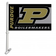 Purdue Boilermakers NCAA Double Sided Car Flag
