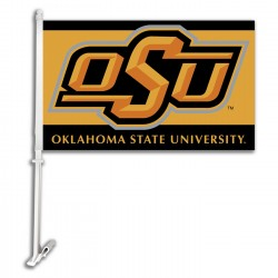 Oklahoma State Cowboys NCAA Double Sided Car Flag