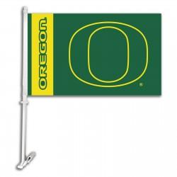 Oregon Ducks NCAA Double Sided Car Flag