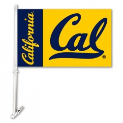 Cal Berkeley Golden Bears Two Sided Car Flag