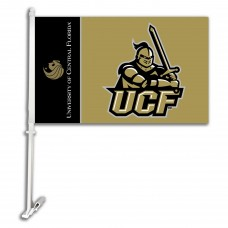 Central Florida Knights 11-inch by 18-inch Two Sided Car Flag