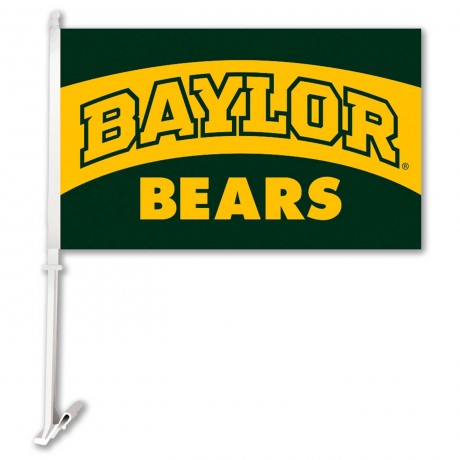 Baylor Bears 11-inch by 18-inch Two Sided Car Flag