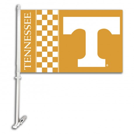Tennessee Volunteers Double Sided Car Flag