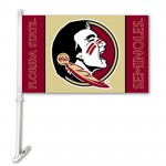 Florida State Seminoles NCAA Double Sided Car Flag