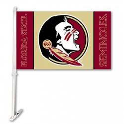 Florida State Seminoles NCAA Double Sided Car Flag
