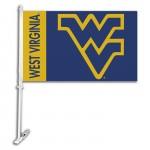 West Virginia Mountaineers NCAA Double Sided Car Flag
