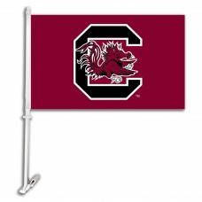 South Carolina Gamecocks 'C' Two Sided Car Flags