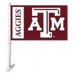 Texas A&M Aggies 11-inch by 18-inch Two Sided Car Flag