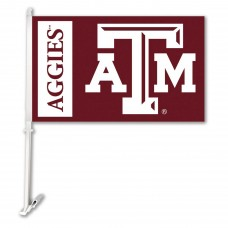 Texas A&M Aggies 11-inch by 18-inch Two Sided Car Flag