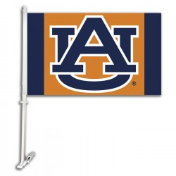 Auburn Tigers 11-inch by 18-inch Two Sided Car Flag