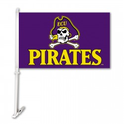 East Carolina Pirates NCAA Double Sided Car Flag