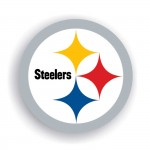 Pittsburgh Steelers 12-inch Vinyl Magnet