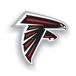 Atlanta Falcons 12-inch Vinyl Magnet