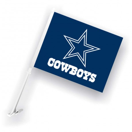 Dallas Cowboys Two Sided Car Flag