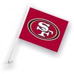 San Francisco 49ers Two Sided Car Flag
