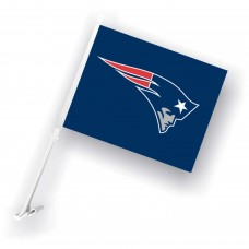New England Patriots Two Sided Car Flag