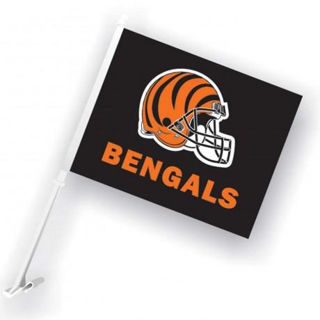 Cincinnati Bengals Two Sided Car Flag