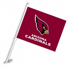Arizona Cardinals Two Sided Car Flag