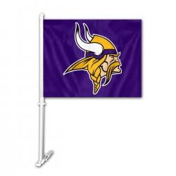 Minnesota Vikings Double Sided Car Flag