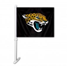 Jacksonville Jaguars Double Sided Car Flag