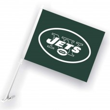 New York Jets Two Sided Car Flag