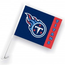 Tennessee Titans Two Sided Car Flag