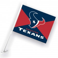 Houston Texans Two Sided Car Flag
