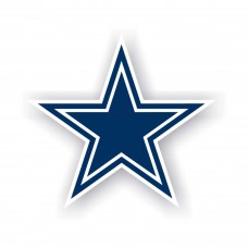 Dallas Cowboys 12-inch Vinyl Magnet