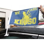 Custom Car Flags with Pole Double Sided